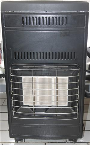 Gas heater with gas bottle S036123A