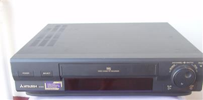 Mitsubishi VCR - in excellent working order