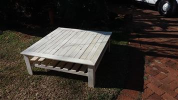 Large pallet coffee table for sale