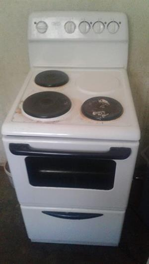 Stove and 2 plates working 100%