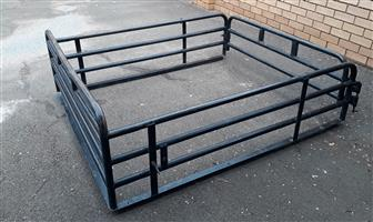 Ford Ranger supercab cattle rails/tralie