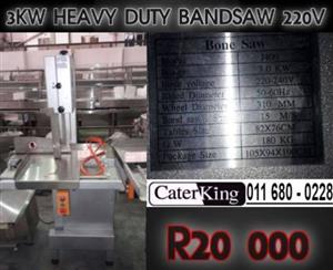 3KW HEAVY DUTY DELUXE BANDSAW 220V