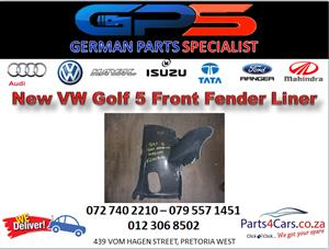 New VW Golf 5 Front Fender Liner for Sale