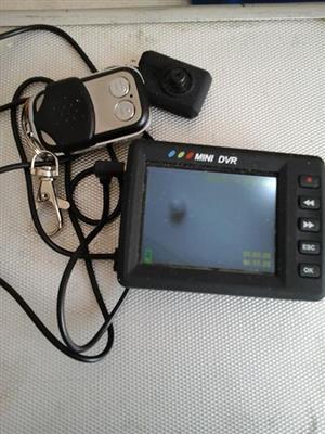 Mini DVR ,REMOTE CONTROL,AV IN AND OUT 16GB,