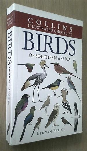 Collins illustrated checklist birds of Southern Africa.