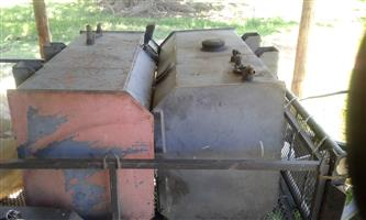 2x300L Diesel Tanks