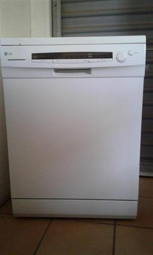 White LG dishwasher for sale