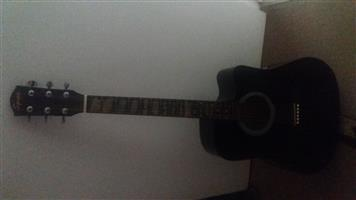 Squire acoustic/electric guitar