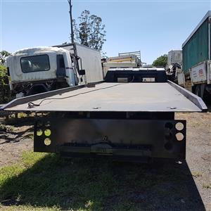 2009 ISUZU FTR 800 . 8 Ton ROLLBACK DECK ONLY ,with rams & cable - no winch