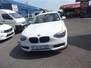2012 BMW 1 Series 118i 5 door steptronic
