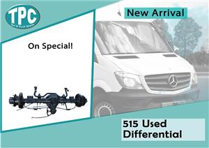 Mercedes Benz Sprinter 515 Used Differential For Sale at TPC