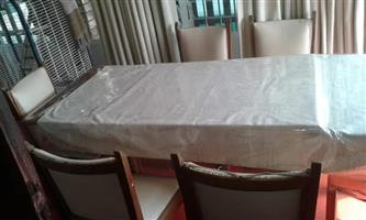 Dining table retractable
