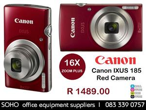 Canon IXUS 185 Red Camera - R1489.00