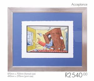 Original Theo Paul Vorster Painting - Acceptance