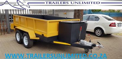 TIPPER TRAILERS TO PERFECTION. 3000 X 2000 X 500MM TRAILERS UNLIMITED.