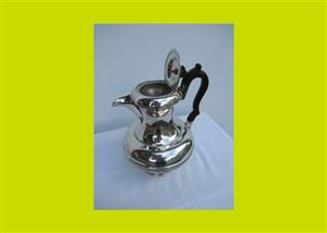 Antique Silver Plated Coffee Pot - SKU 507