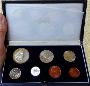 1965 Proof Coin Set