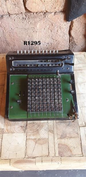 Antique Mercedes Euklid Calculator Adding Machine