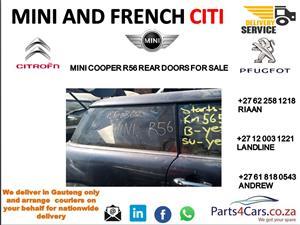 Mini cooper r56 door shell for sale