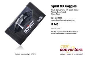 Spirit MX Goggles
