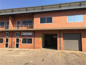 HENNOPS PARK MINI FACTORY / WAREHOUSE TO LET!!!