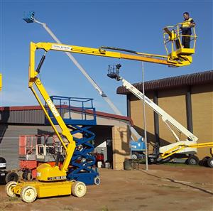 Cherry Pickers Total Access - Upright AB38 13.5M electric boom lift