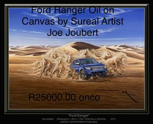 Ford Ranger oil on canvas