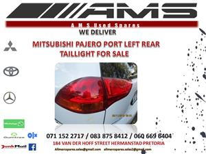 MITSUBISHI PAJERO SPORT LEFT REAR TAILLIGHT