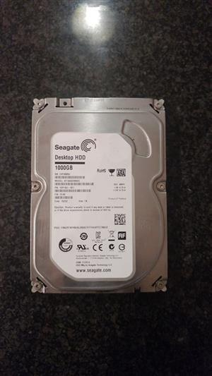 New 1 TB HDD Hard Drive for sale  Natal Midlands