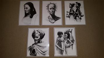 Ethiopian prints