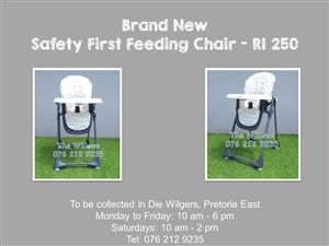 Brand New Safety First Feeding Chair