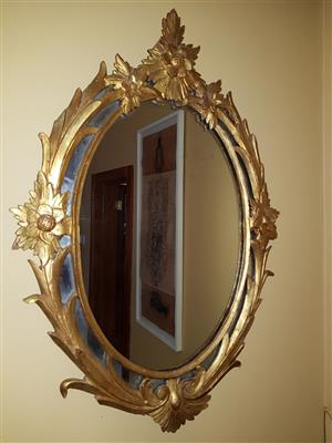 Mirror (carved Gilded wood)