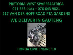 Honda civic 1.8 Engine For Sale