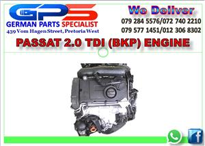 VW PASSAT 2.0 TDI (BKP) ENGINE FOR SALE