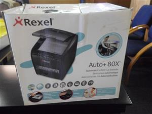 Rexel Auto+ 80X Confetti Cut Shredder