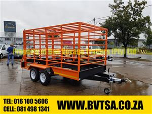 3.7 Meter Cattle Trailer For Sale