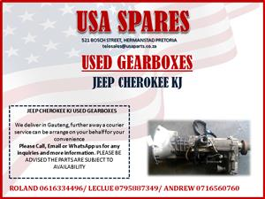 JEEP CHEROKEE KJ USED GEARBOXES FOR SALE