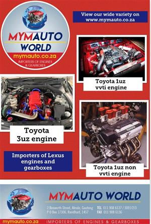 Complete Second Hand used Toyota Lexus engines,TOYOTA LEXUS 4.2L, 1UZ