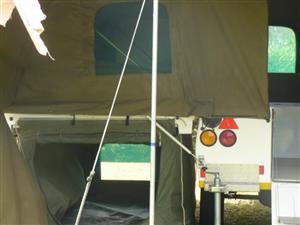 2012 CAMPTECH BOSVELDER OFF ROAD CAMPING TRAILER