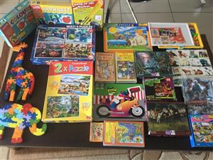 Various puzzles for sale