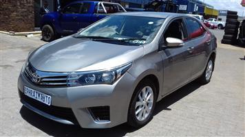 2016 Toyota Corolla 1.6 Prestige auto