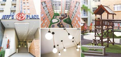 1 bedroom available @ Pretoria Central Jeffs Place