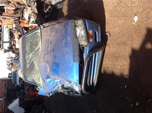 Stripping Mazda Rustler 2001 for Spares