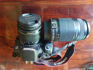 Canon EOS 650D Digital Camera, bag 2x lenses