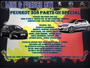 PARTS FOR PEUGEOT 308, 308CC