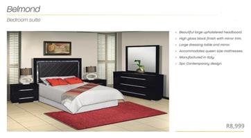PERILLI Belmond Bedroom Suite