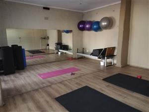 Pilates reformer well looked after