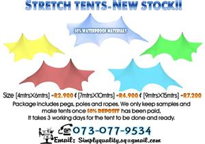 STRETCH TENTS SALES