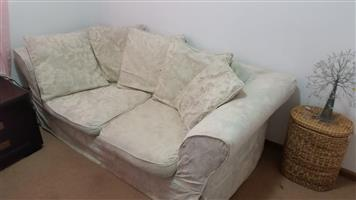 2 Seater Coach with removable and washable cover