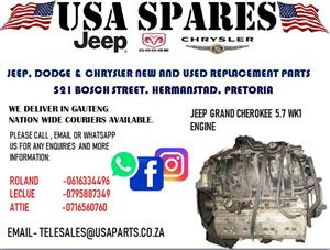 JEEP GRAND CHEROKEE 5.7 WK1 ENGINE (FOR SALE)